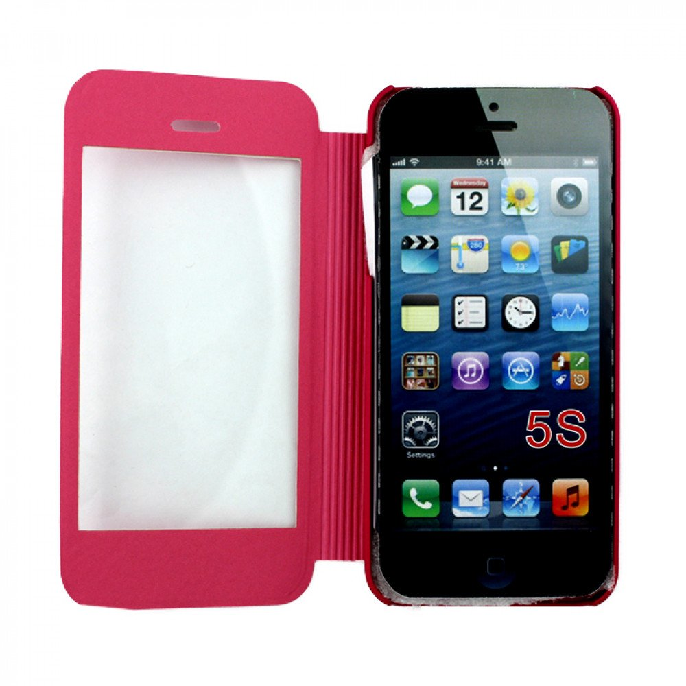 cheap iphone 5s iphone 5 5s slim touch screen flip leather 10369