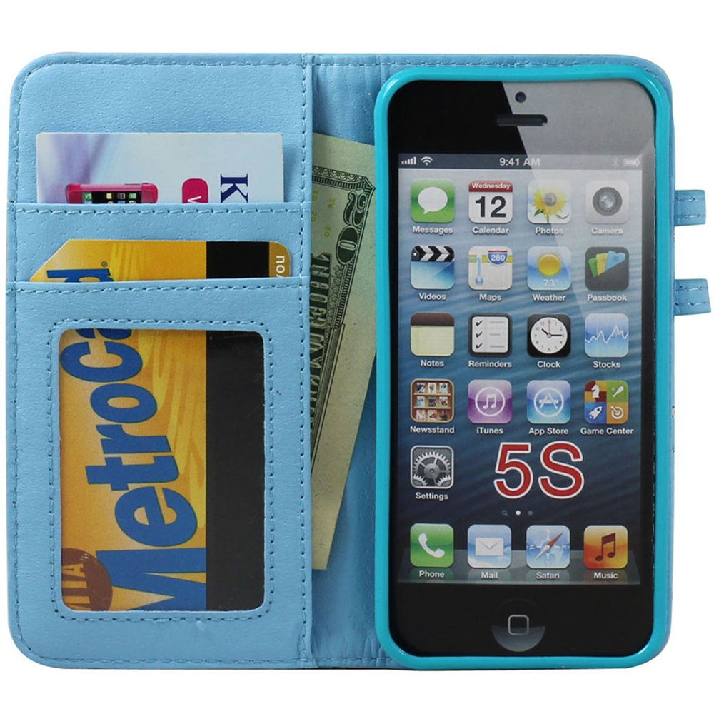iphone 5s cheap cases iphone 5 5s square flip leather wallet with 9864