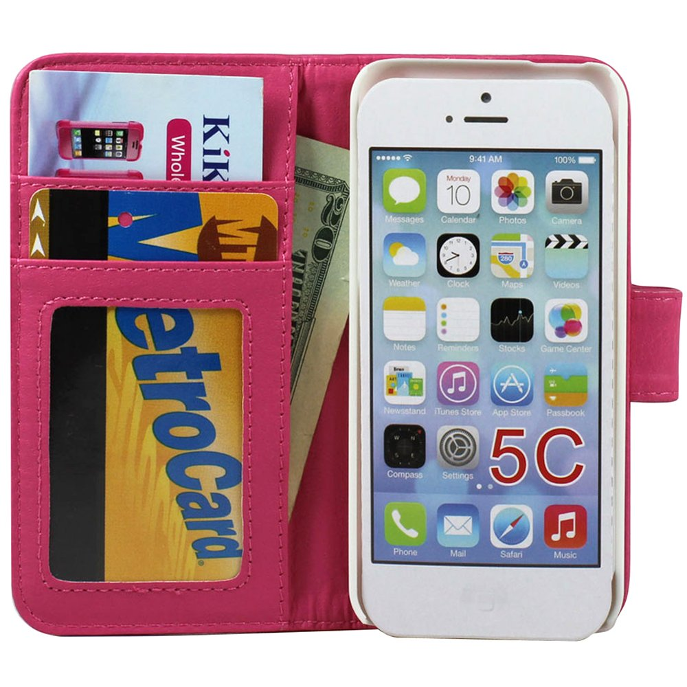 how to send pictures from iphone iphone 5c simple flip leather wallet pink 5622
