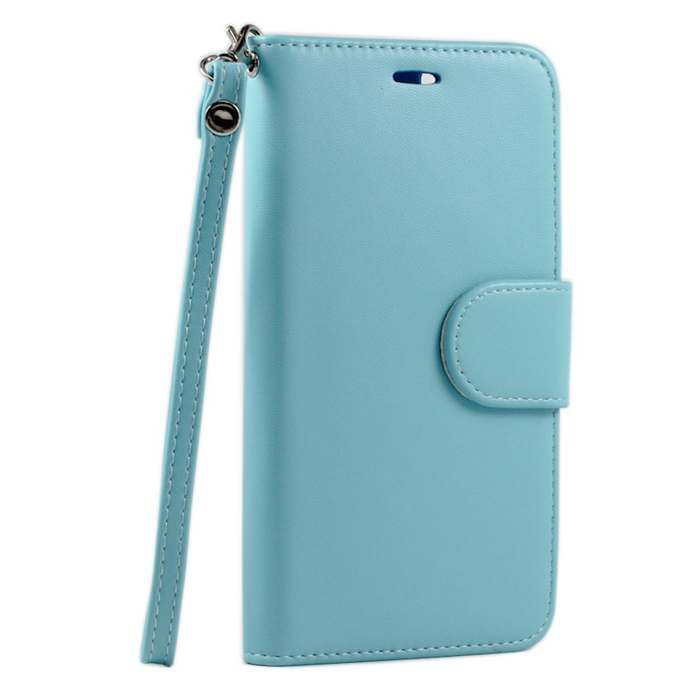 Wholesale Iphone 6 Plus 5 5 Folio Flip Leather Wallet Case