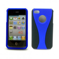 iPhone 4S Hybrid Cup Case (BlueBlack)