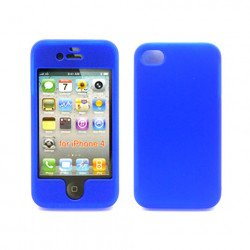 iPhone 4S Hard Protector Cover (Blue)