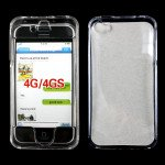 Wholesale iPhone 4S 4 Hard Protector Cover (Clear)