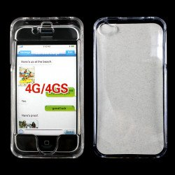 iPhone 4S 4 Hard Protector Cover (Clear)
