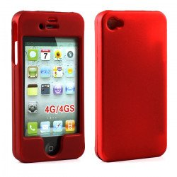 iPhone 4S Hard Protector Cover (Red)