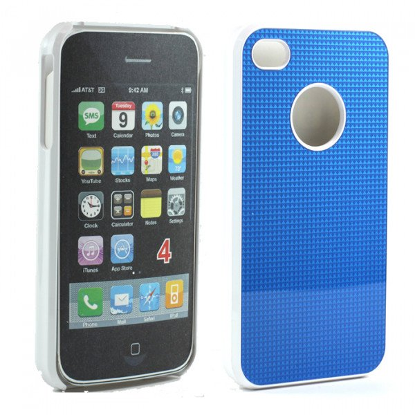 Wholesale iPhone 4S Pro Slim Case (Blue)