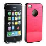 Wholesale iPhone 4 4S Pro Slim Case (Red)