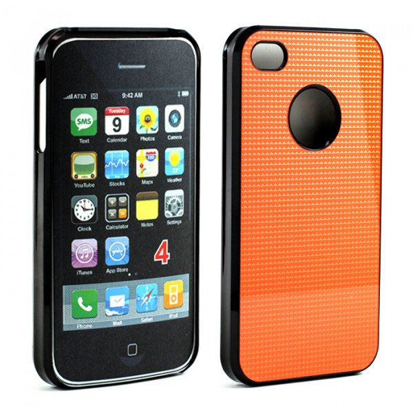 Wholesale iPhone 4 4S Pro Slim Case (Orange)