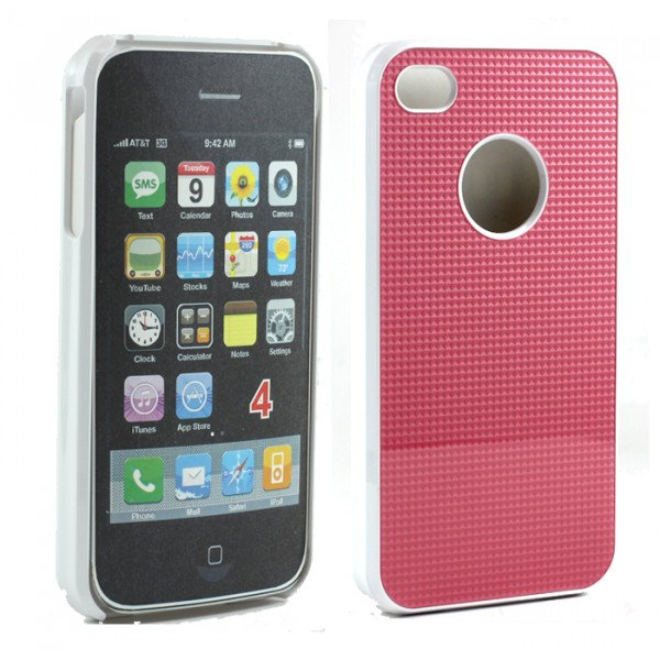 Wholesale iPhone 4 4S Pro Slim Case (Pink)
