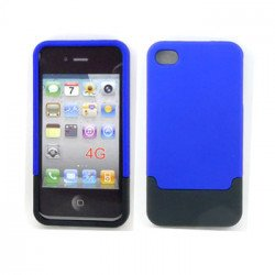 iPhone 4 4S Push Up Case (BlueBlack)
