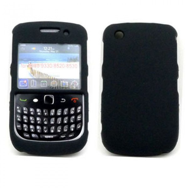 Wholesale Blackberry Curve 8520 9300 Hard Case (Black)