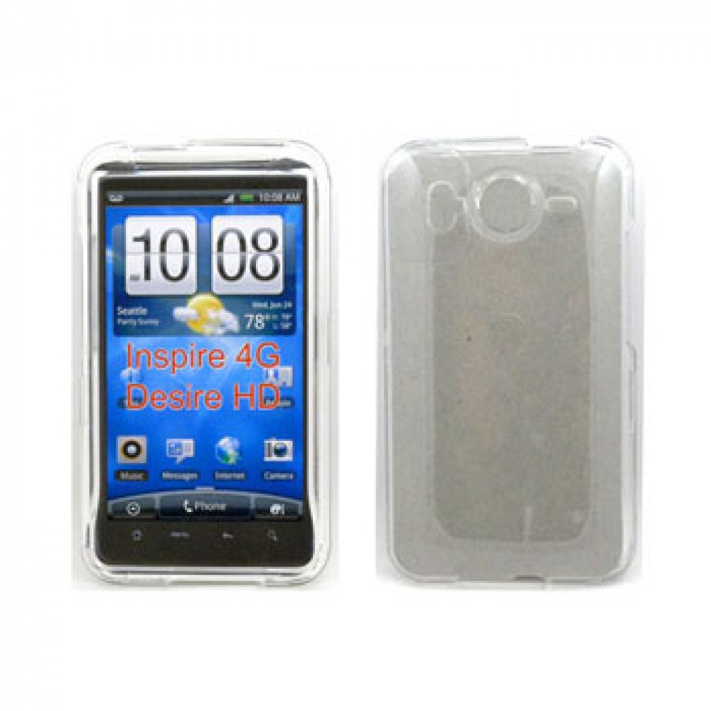huge discount e4118 9436e Wholesale HTC Inspire 4G Hard Protector Case (Clear)