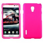 Wholesale LG Optimus F7 Hard Protector Cover (Hot Pink)