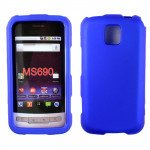 Wholesale LG Optimus M MS690 Hard Protector Cover (Blue)