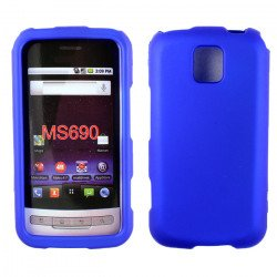 LG Optimus M MS690 Hard Protector Cover (Blue)
