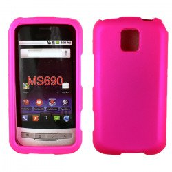 LG Optimus M MS690 Hard Protector Cover (Pink)