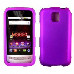 LG Optimus M MS690 Hard Protector Cover (Purple)