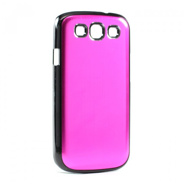 Wholesale Samsung Galaxy S3 / i9300 Aluminum Case (Hot Pink)