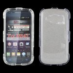 Wholesale Galaxy Prevail 2 M840 Hard Protector Case (Clear)