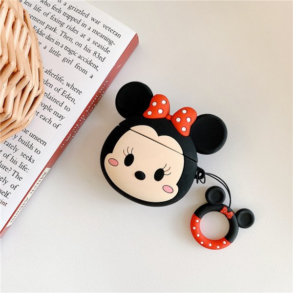 Wholesale Airpod Pro Cute Design Cartoon Silicone Cover Skin for Airpod Pro Charging Case (Mouse Girl)