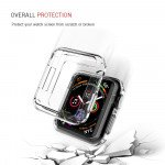 Wholesale Apple Watch Series 4 Transparent Ultra-Thin All Around Bumper Protective Case 40MM (Clear)