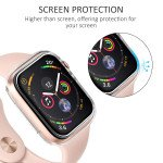 Wholesale Apple Watch Series 5 / 4 Transparent Ultra-Thin All Around Bumper Protective Case 44MM (Clear)