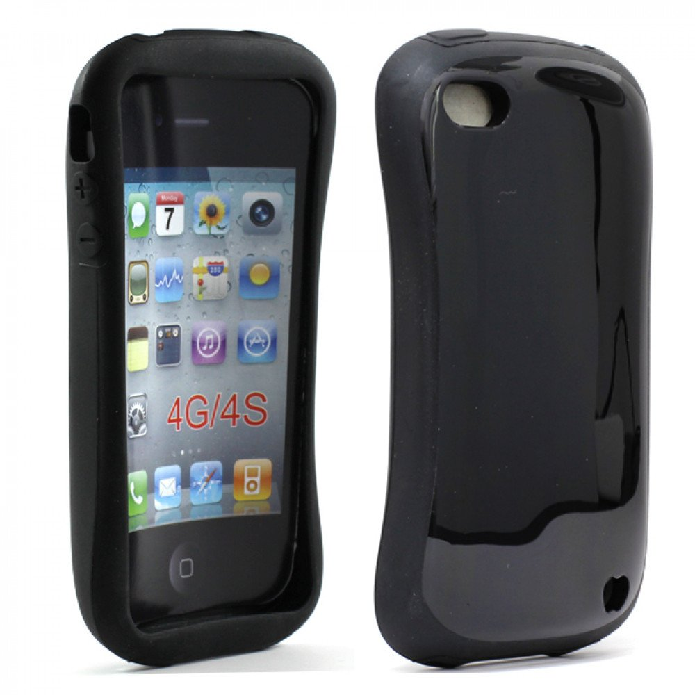 iphone 4s black iphone 4 4s shell black 10906