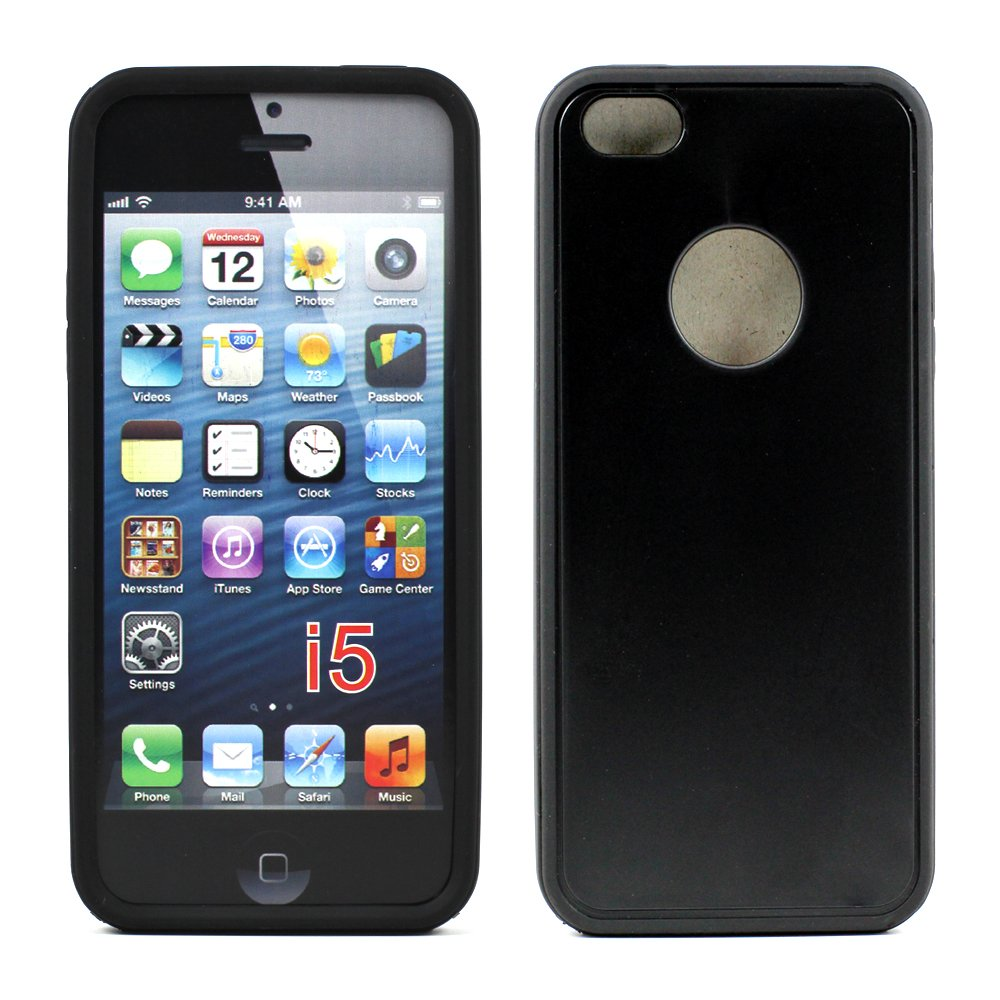 iphone 5s cheap cases iphone 5 5s gummy hybrid black black 9864