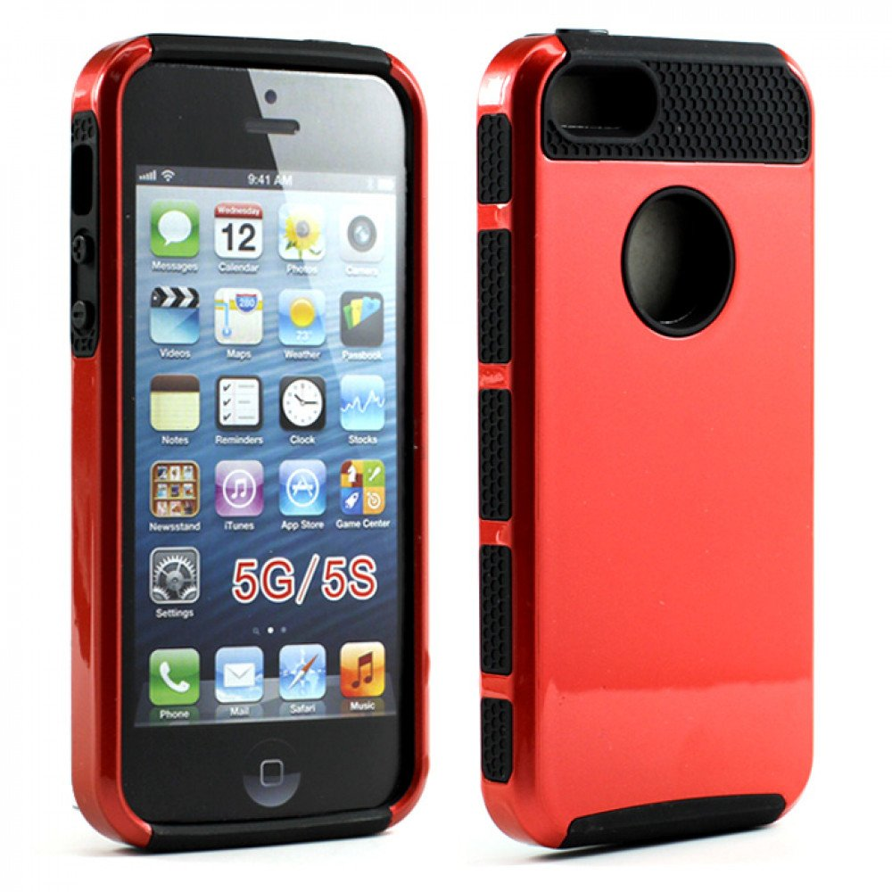 iphone 5s red iphone 5s 5 slim armor hybrid black 11237