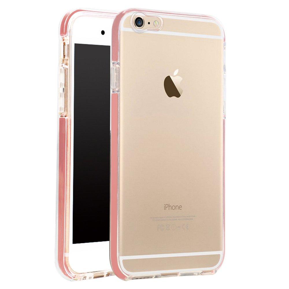 wholesale iphone 7 led flash clear hybrid case pink. Black Bedroom Furniture Sets. Home Design Ideas