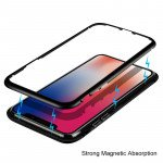 Wholesale iPhone 8 Plus / 7 Plus Fully Protective Magnetic Absorption Technology Transparent Clear Case (Silver)