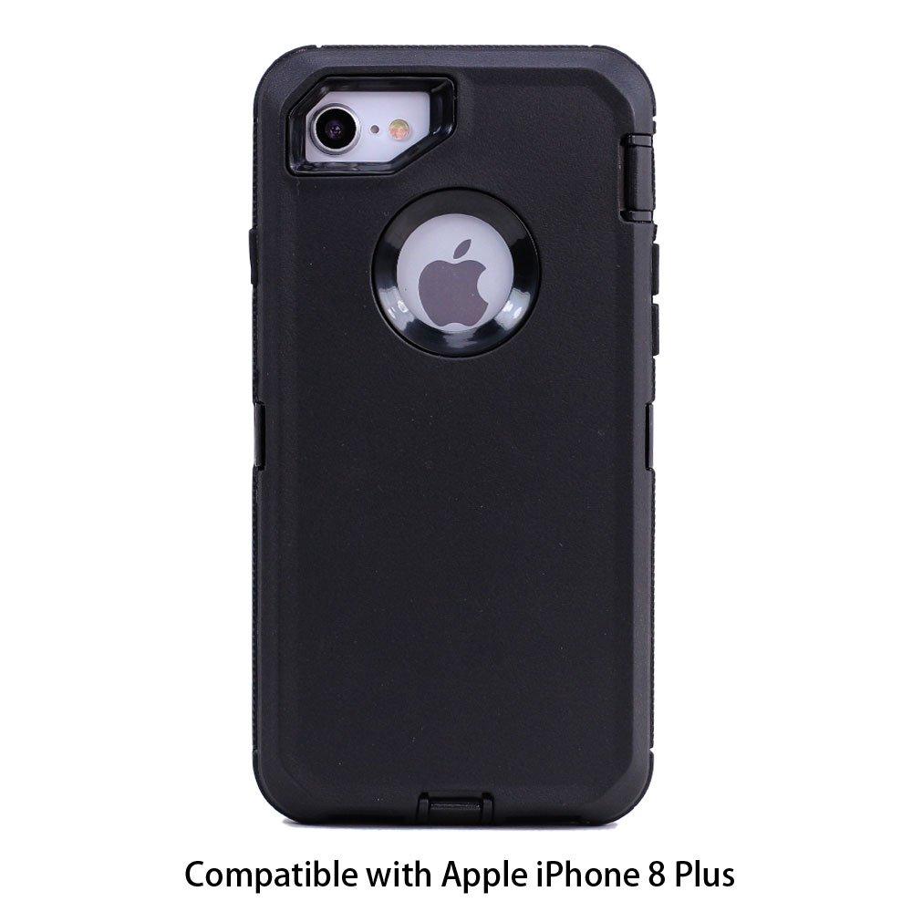 Wholesale iphone 8 plus 7 plus 6s 6 plus premium armor defender case gray orange - Iphone 8 plus case ...