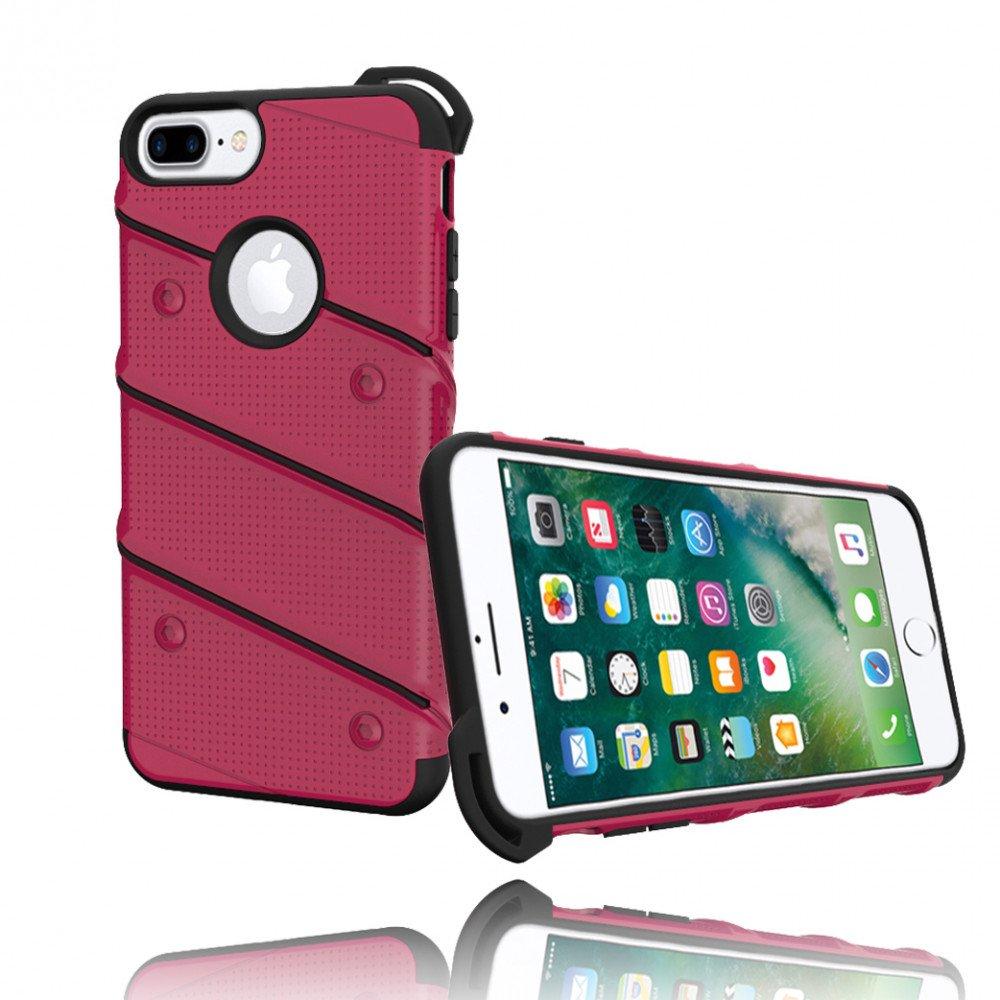 wholesale iphone 7 plus shockproof hybrid case hot pink. Black Bedroom Furniture Sets. Home Design Ideas