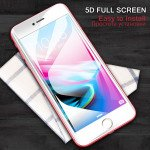Wholesale iPhone 8 Plus / 7 Plus / 6S Plus / 6 Plus 5D Tempered Glass Full Screen Protector (5D Glass White)