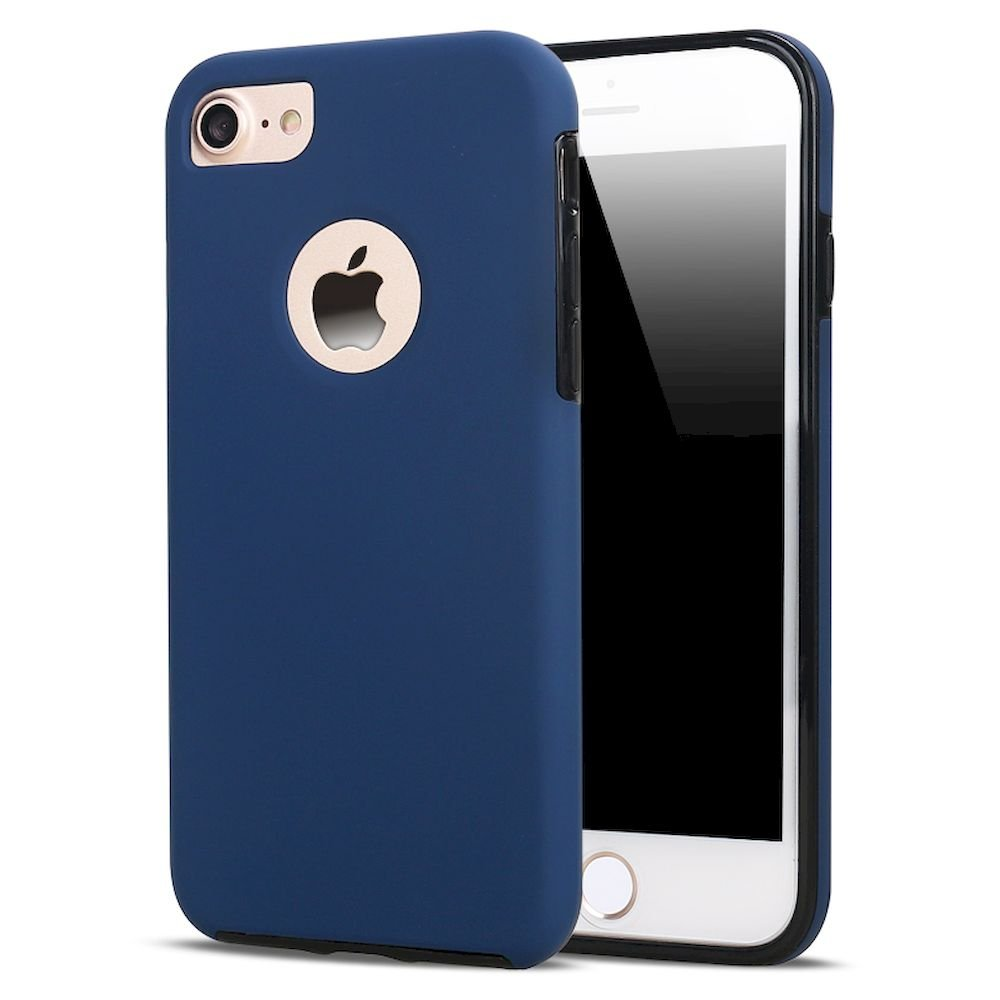 wholesale iphone 7 360 slim full protection case blue. Black Bedroom Furniture Sets. Home Design Ideas