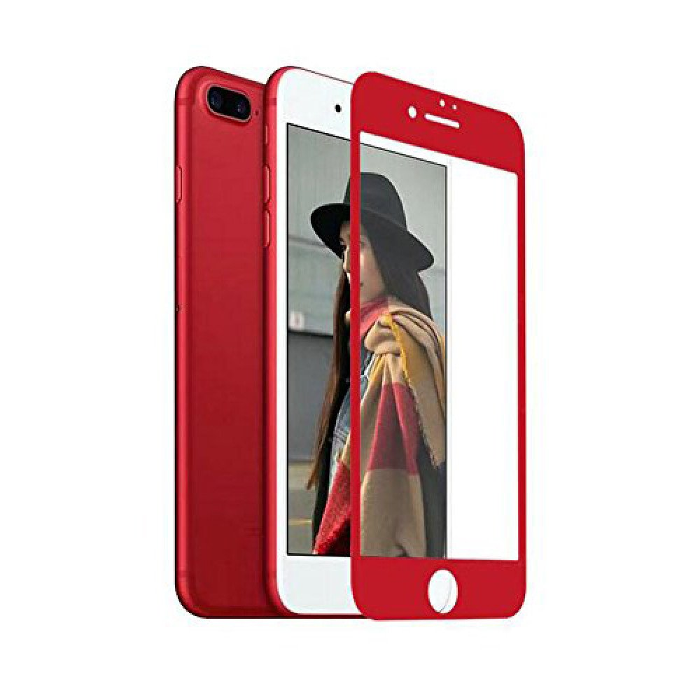 best sneakers 58be0 af663 Wholesale iPhone 8 Plus / 7 Plus Full Soft Edge Cover Tempered Glass ...