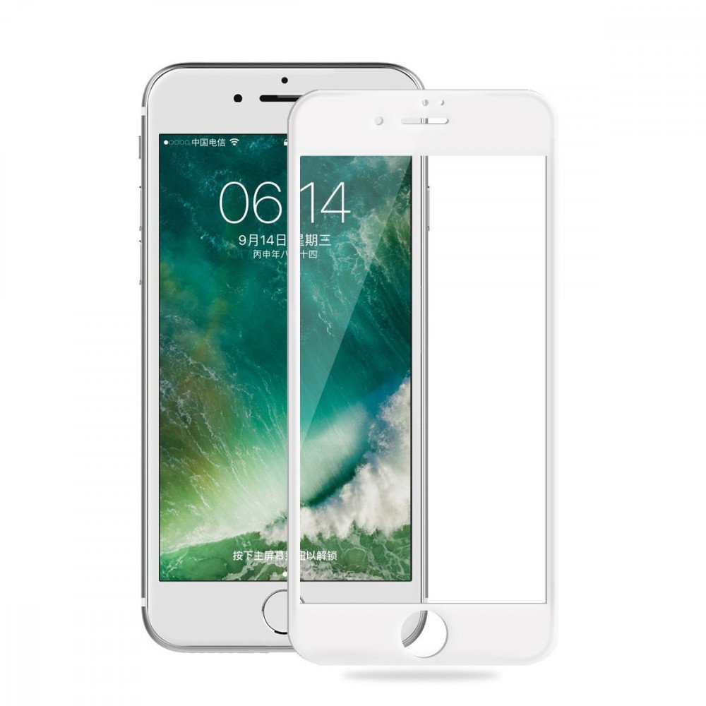 best sneakers f073b 0597a Wholesale iPhone 8 Plus / 7 Plus Full Soft Edge Cover Tempered Glass ...