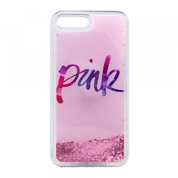 Iphone  Plus Clear Glitter Case