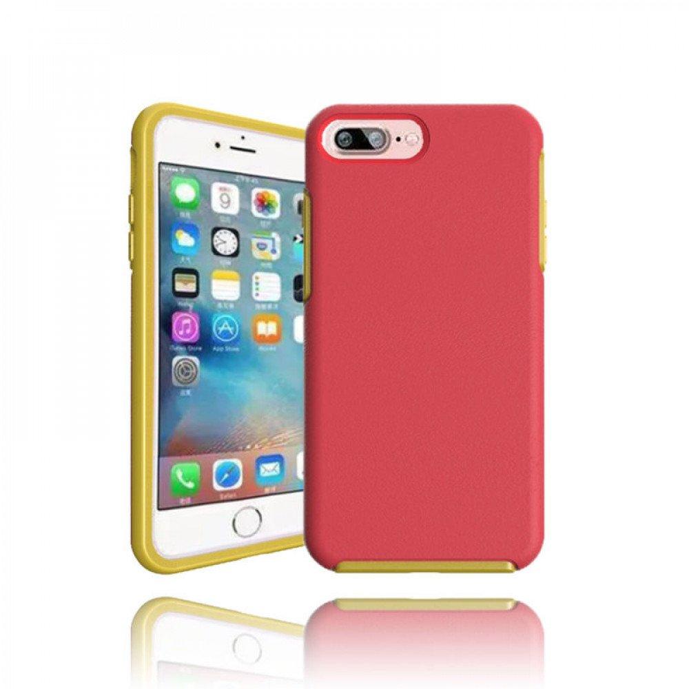 wholesale iphone 7 plus hard gummy hybrid case hot pink. Black Bedroom Furniture Sets. Home Design Ideas
