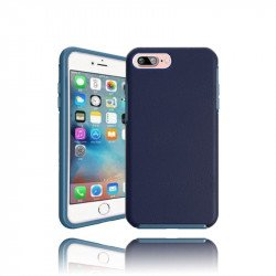 iPhone 7 Plus Hard Gummy Hybrid Case (Navy Blue)
