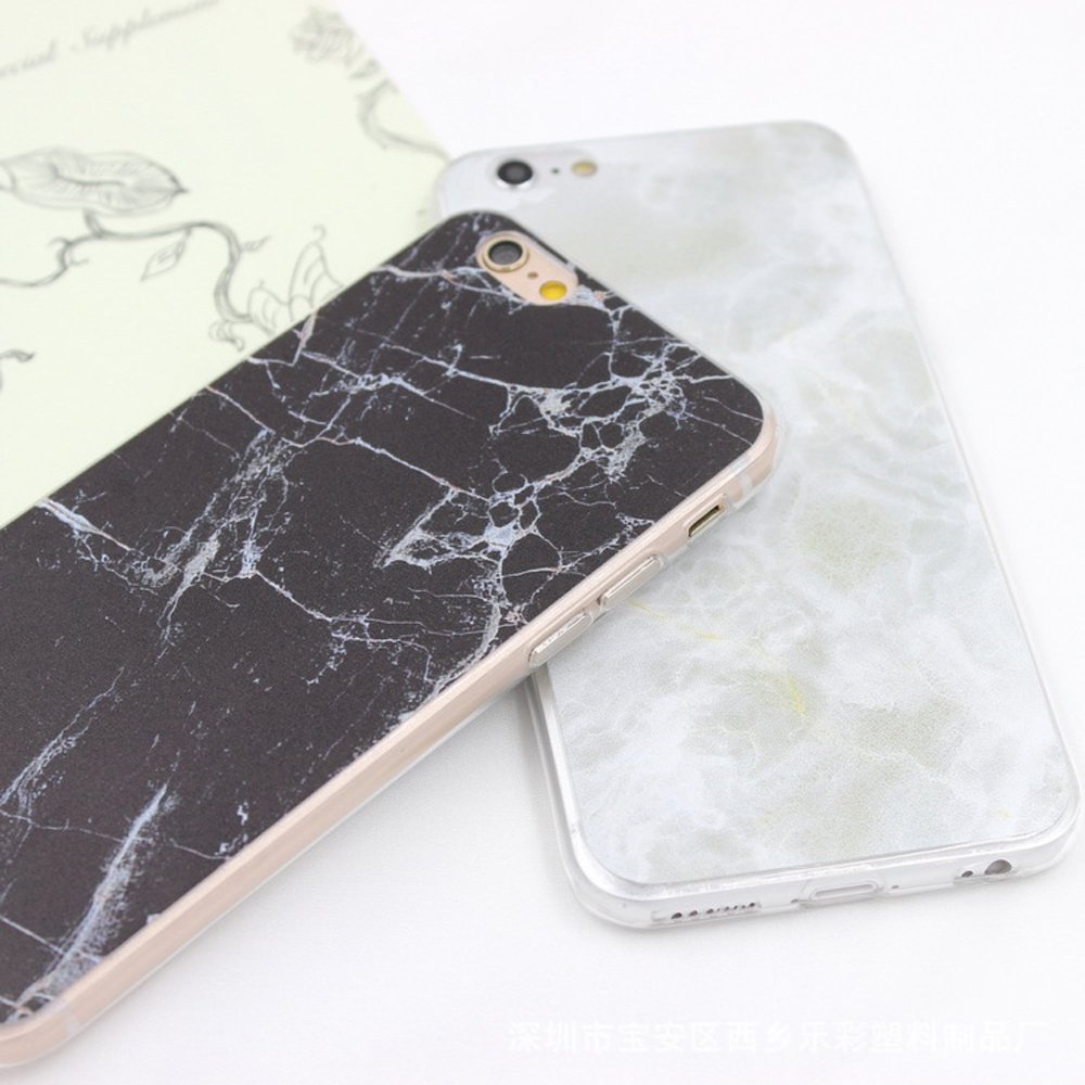 Wholesale Iphone 7 Plus Marble Design Case White