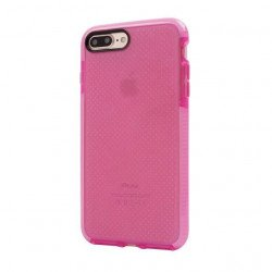iPhone 8 Plus / 7 Plus Mesh Hybrid Case (Hot Pink)