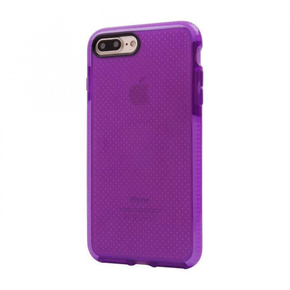 Wholesale Iphone 8 Plus 7 Plus Mesh Hybrid Case Purple
