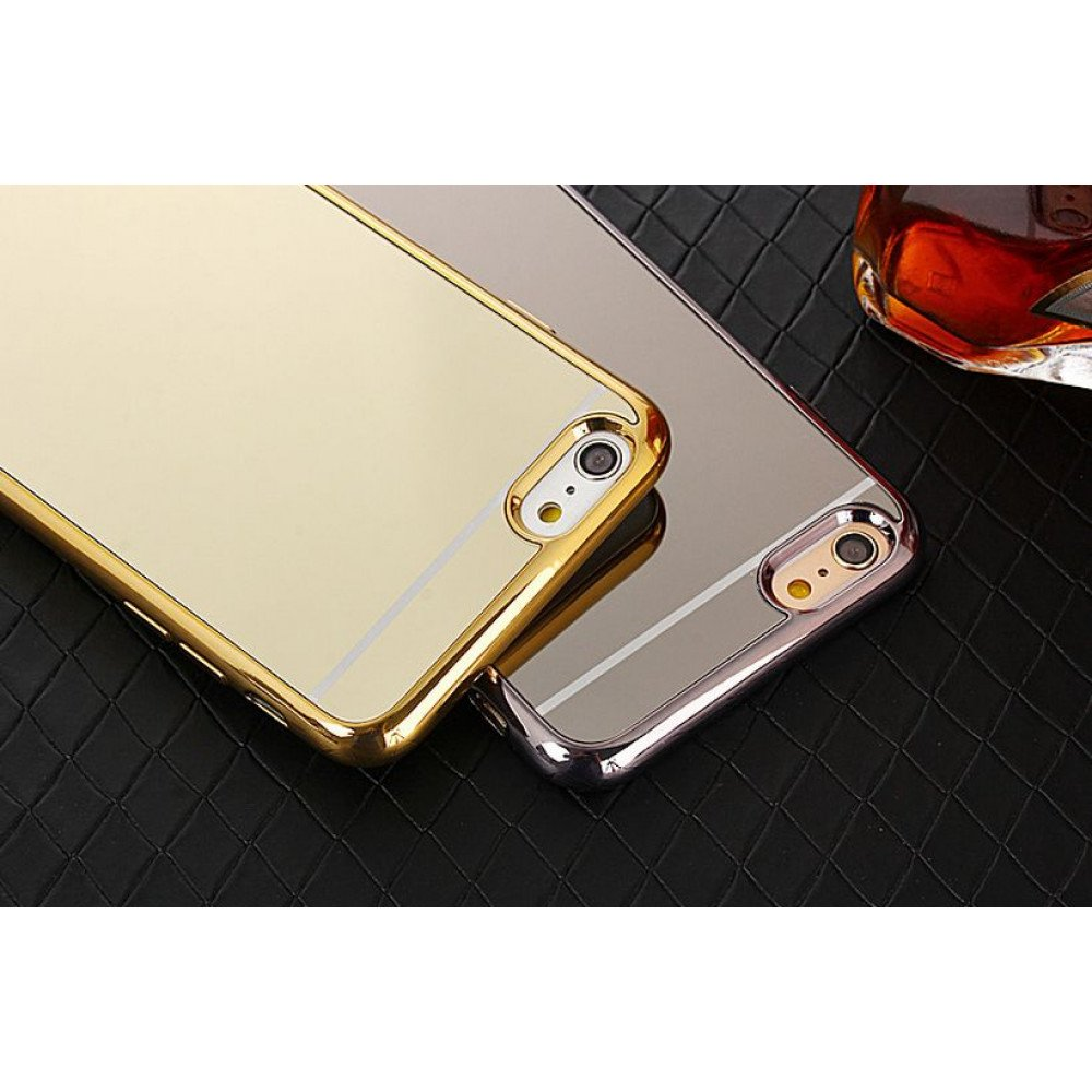 best sneakers 06cfc cfb38 Wholesale iPhone 7 Mirror Shiny Hybrid Case (Champagne Gold)