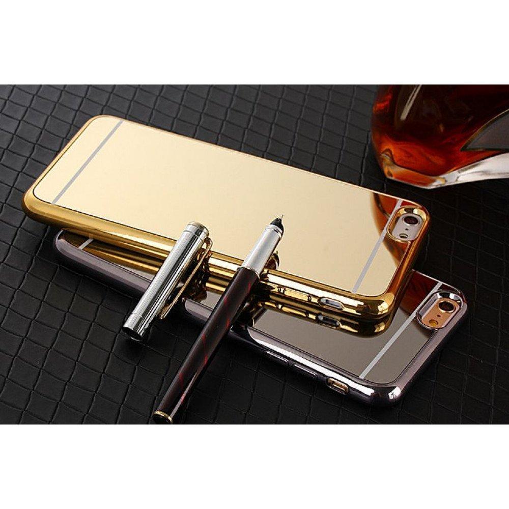Wholesale iPhone 7 Plus Mirror Shiny Hybrid Case (Rose Gold) 9753883e23d0