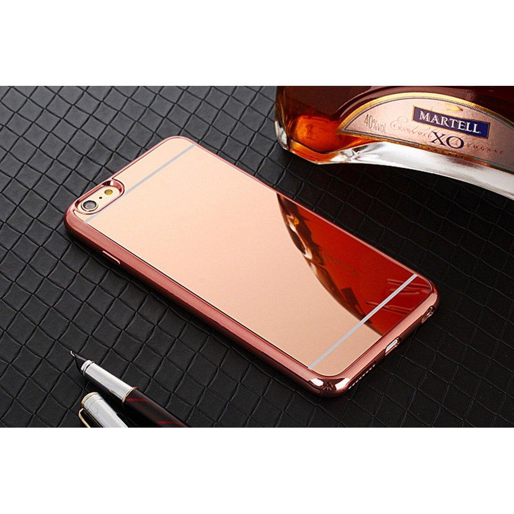 more photos 0b929 2ca74 Wholesale iPhone 7 Plus Mirror Shiny Hybrid Case (Rose Gold)