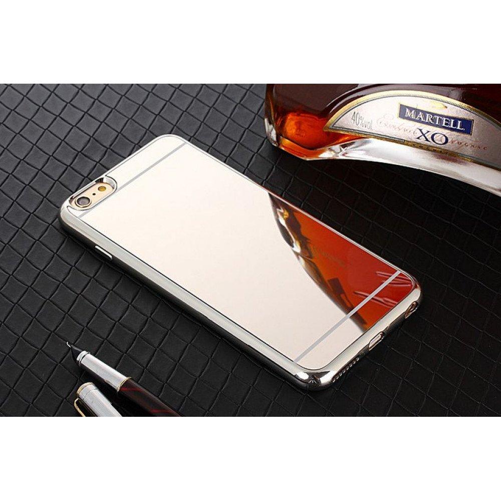 the best attitude c1a25 4d48c Wholesale iPhone 7 Plus Mirror Shiny Hybrid Case (Silver)