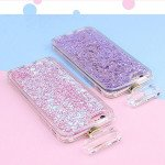 Wholesale iPhone 6S / 6 Perfume Bottle Glitter Shake Star Dust Necklace Case (Hot Pink)
