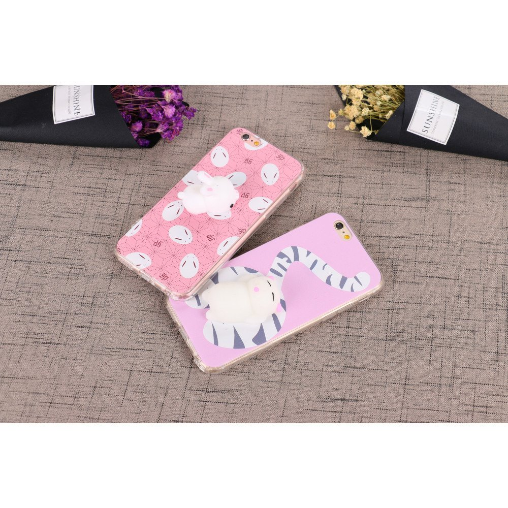 Squishy Bunny Pillow : Wholesale iPhone 7 3D Poke Squishy Plush Silicone Soft Case (Bunny)
