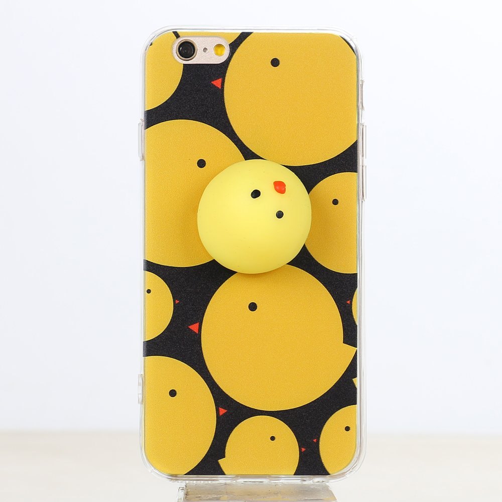 Squishy Cases Iphone 7 : Wholesale iPhone 7 Plus 3D Poke Squishy Plush Silicone Soft Case (Chick)
